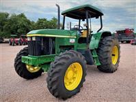 Trator John Deere 6605 4x4 ano 03