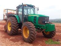Trator John Deere 6145 4x4 ano 15