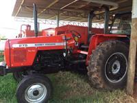 Trator Massey Ferguson 275 Advanced TURBO  4x2 ano 02