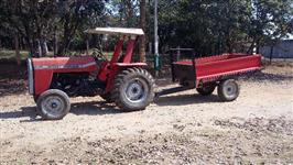 Trator Massey Ferguson 235 4x2 ano 88