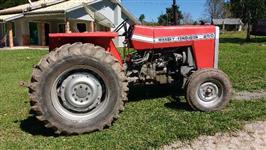 Trator Massey Ferguson 250E 4x2 ano 80