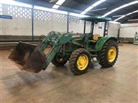 Trator John Deere 5075 4x4 ano 10