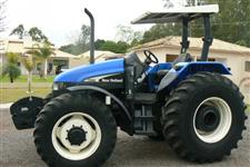 Trator New Holland TS 110 4x4 ano 07
